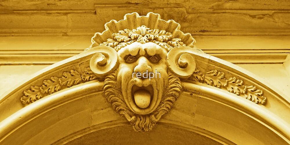 Gargoyle 'Say Aahh' Sepia by redph