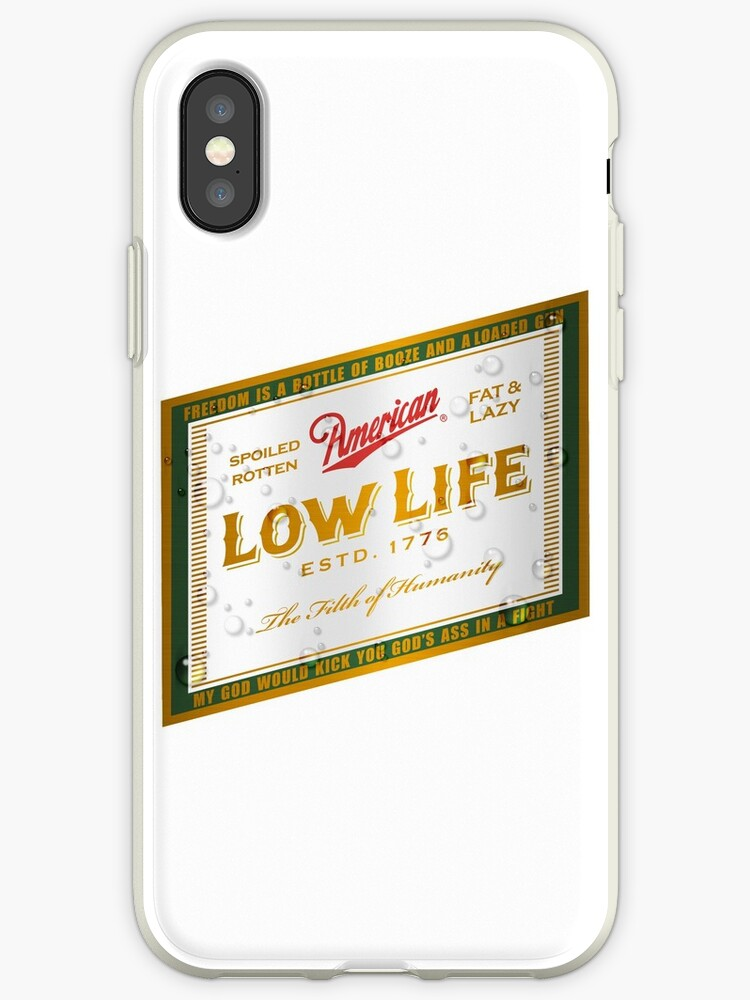American Low Life Beer Label by andabelart