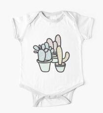 Pastel Cacti Kids Clothes