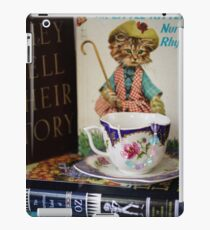 Children's Books and Tea iPad Case/Skin
