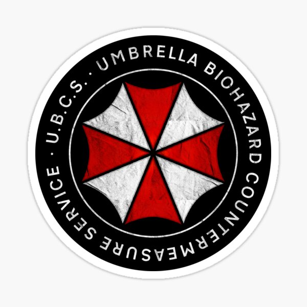 Umbrella Biohazard Countermeasure Service | Resident Evil 3 Sticker