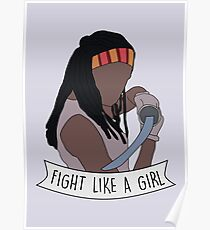 Fight like Michonne Poster