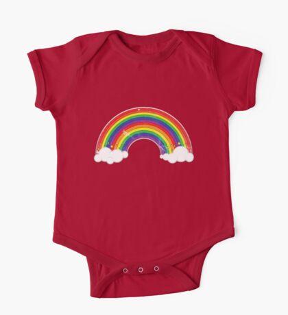 Double Rainbow: Rainbow-Dirty Logo Kids Clothes