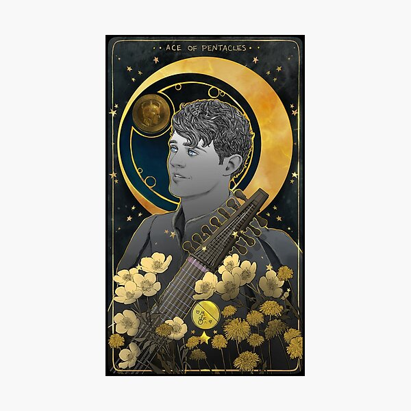 ace of pentacles  Photographic Print