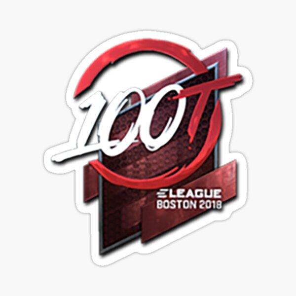 100 thieves sticker Sticker