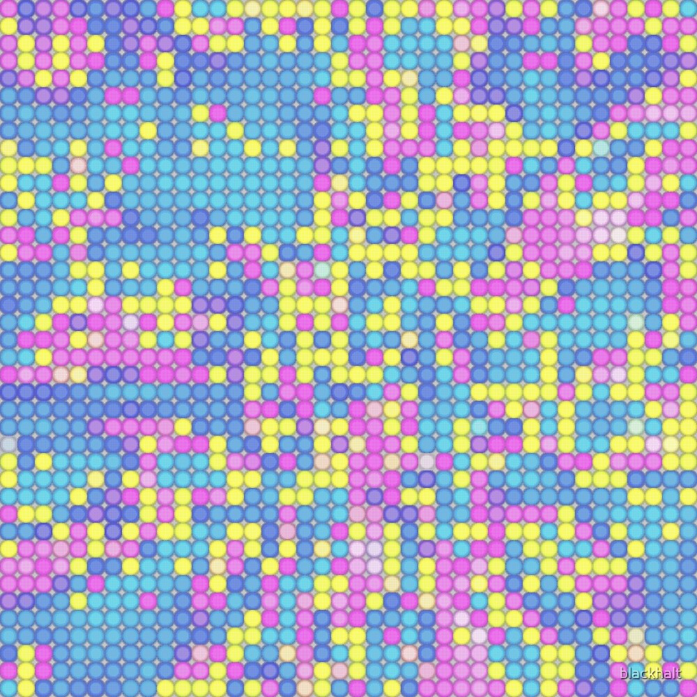 Matrix   Abstract random colors #18 by blackhalt