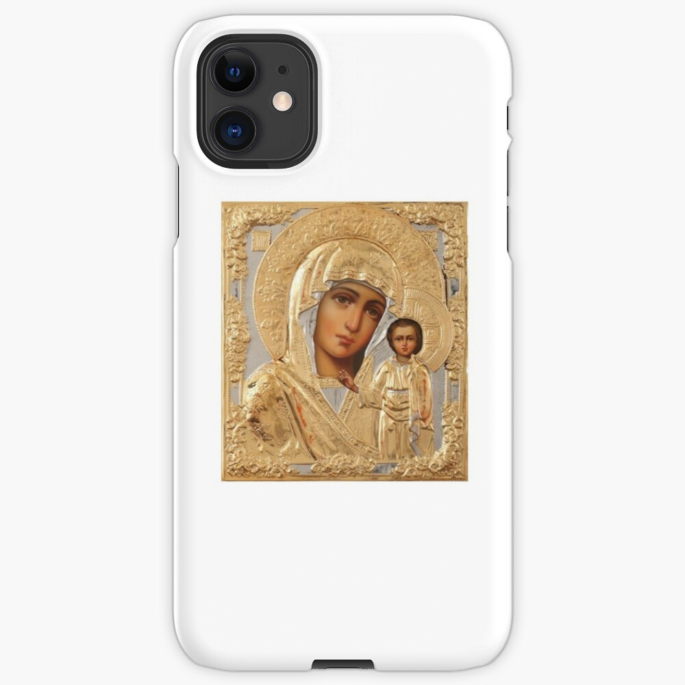 Икона Божией Матери - Icon of the Mother of God: iPhone Case & Cover