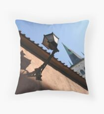 Looking up to the St Olaf's Church Throw Pillow