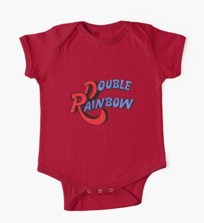 Double Rainbow-Dirty Logo Kids Clothes