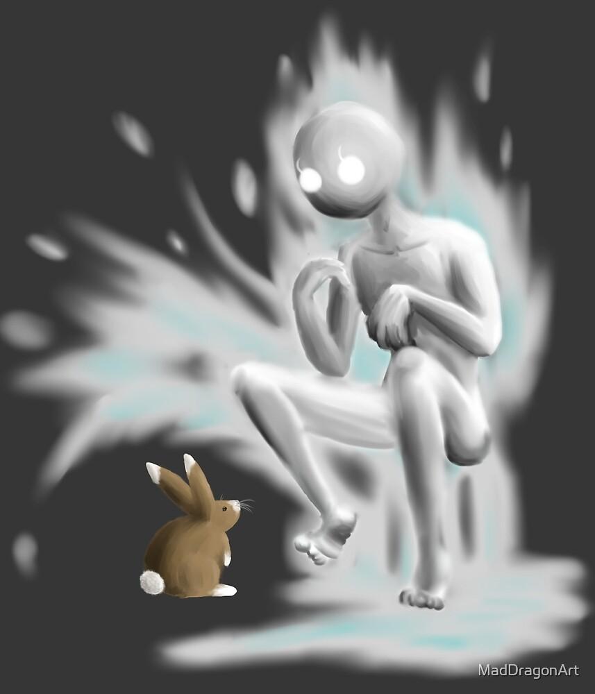 Bunny Spirit by MadDragonArt