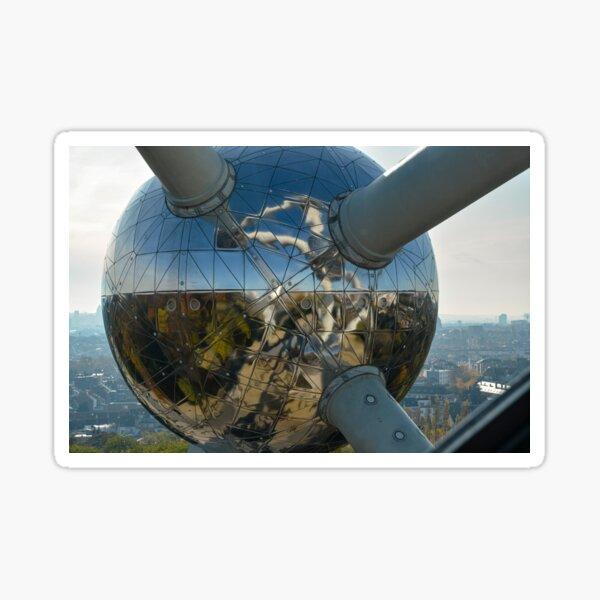 Atomium (detail), Brussels, Belgium Sticker