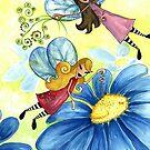Flights of Fancy - 'Pollinating' by Cherie Roe Dirksen