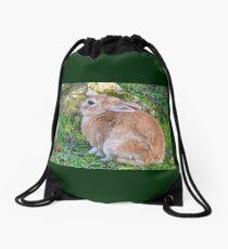 Cuddly Bunny............ Drawstring Bag