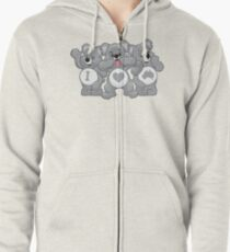 Care Koalas | Bushfire Fundraiser - 100% of profits donated to Wildlife Victoria Zipped Hoodie
