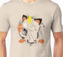Meowth Splatter Unisex T-Shirt