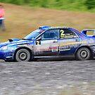 Subaru Impreza No 02 by Willie Jackson