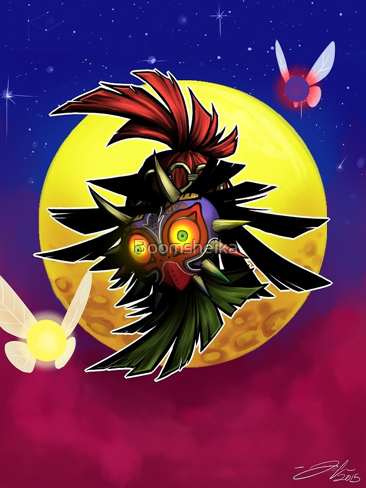 Skull Kid - Legend of Zelda: Majora's Mask by Boomsheika