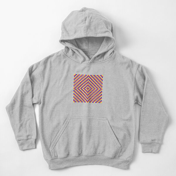 Colorful and Bright Circles - Illustration Kids Pullover Hoodie