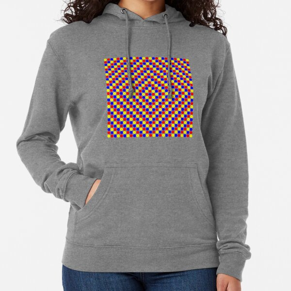 Colorful and Bright Circles - Illustration Lightweight Hoodie