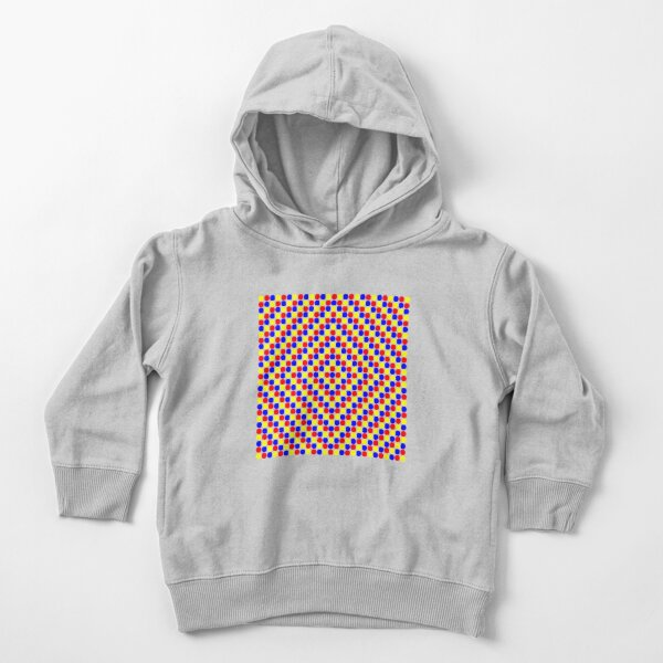 Colorful and Bright Circles - Illustration Toddler Pullover Hoodie