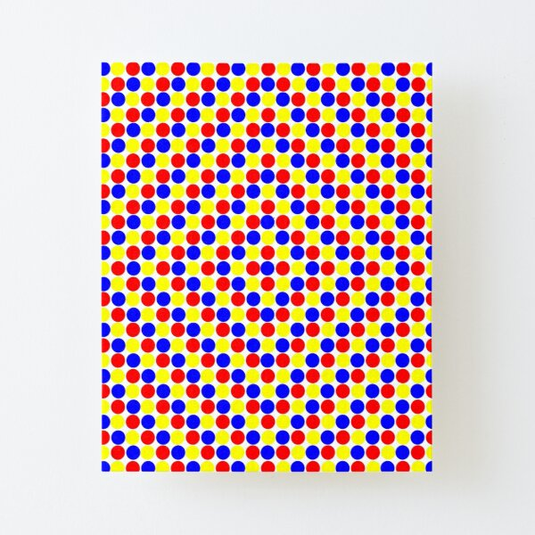 Colorful and Bright Circles - Illustration Canvas Mounted Print