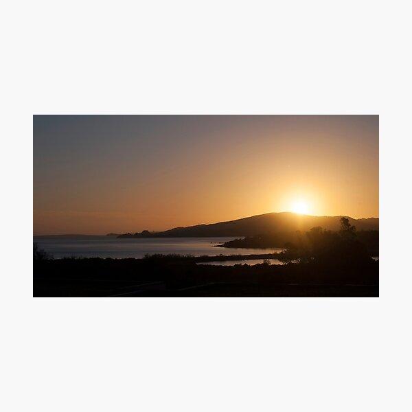 Sunset in Sardinia Photographic Print
