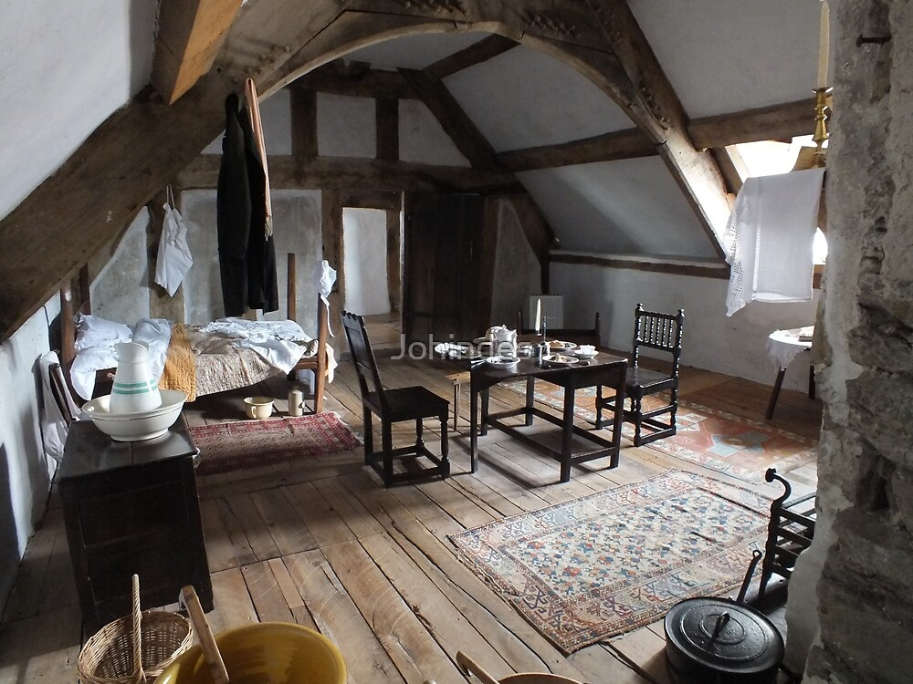 Plas Mawr, Jane's room by Johindes