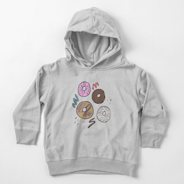 Doughnuts Toddler Pullover Hoodie