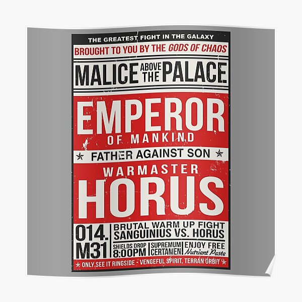 Malice Above The Palace Poster