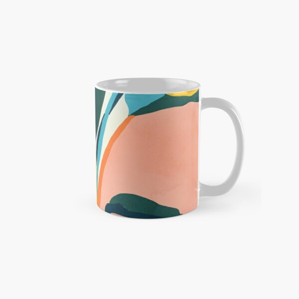 Nature Does Not Hurry Yet Everything Is Accomplished #painting Classic Mug
