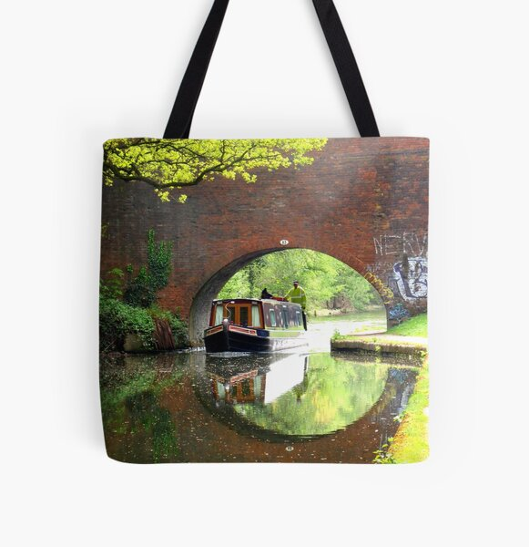 In the Heart of the City All Over Print Tote Bag