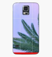 Palmen + Ombre Sky + Raster ästhetisch Hülle & Klebefolie für Samsung Galaxy