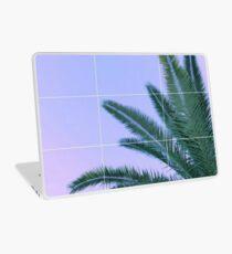 Palmen + Ombre Sky + Raster ästhetisch Laptop Skin
