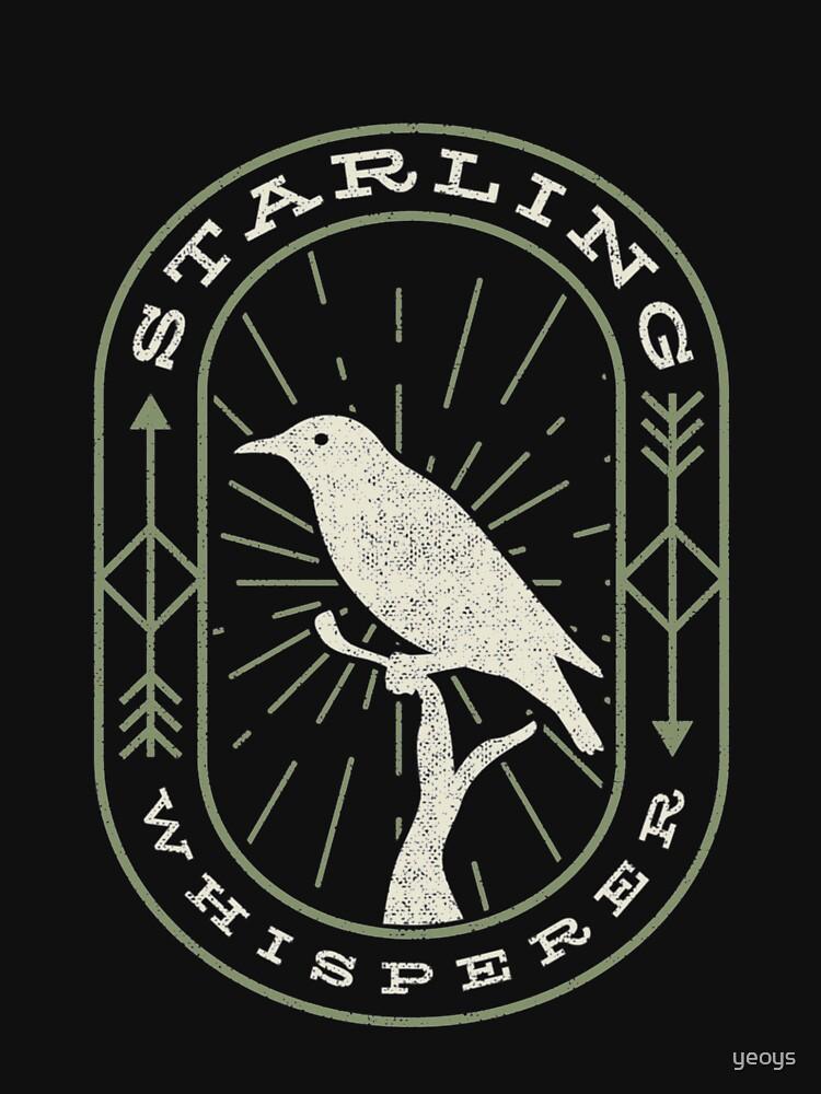 Starling Whisperer - Bird Watching by yeoys