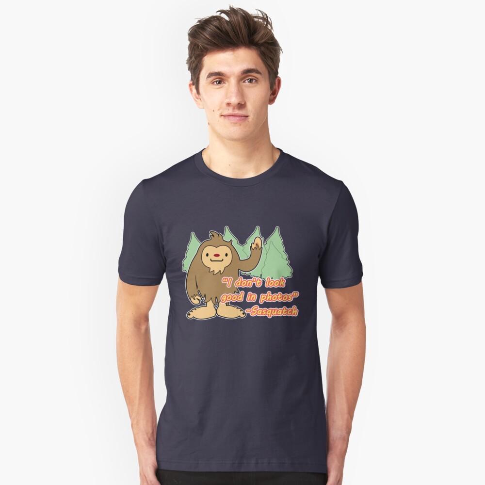Sasquatch photo. Unisex T-Shirt Front