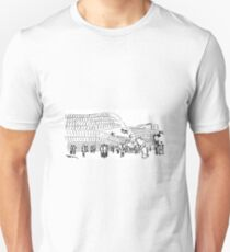 Line drawings Unisex T-Shirt