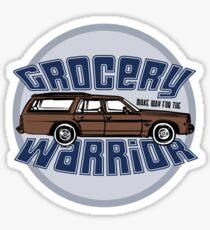 Grocery Warrior Sticker