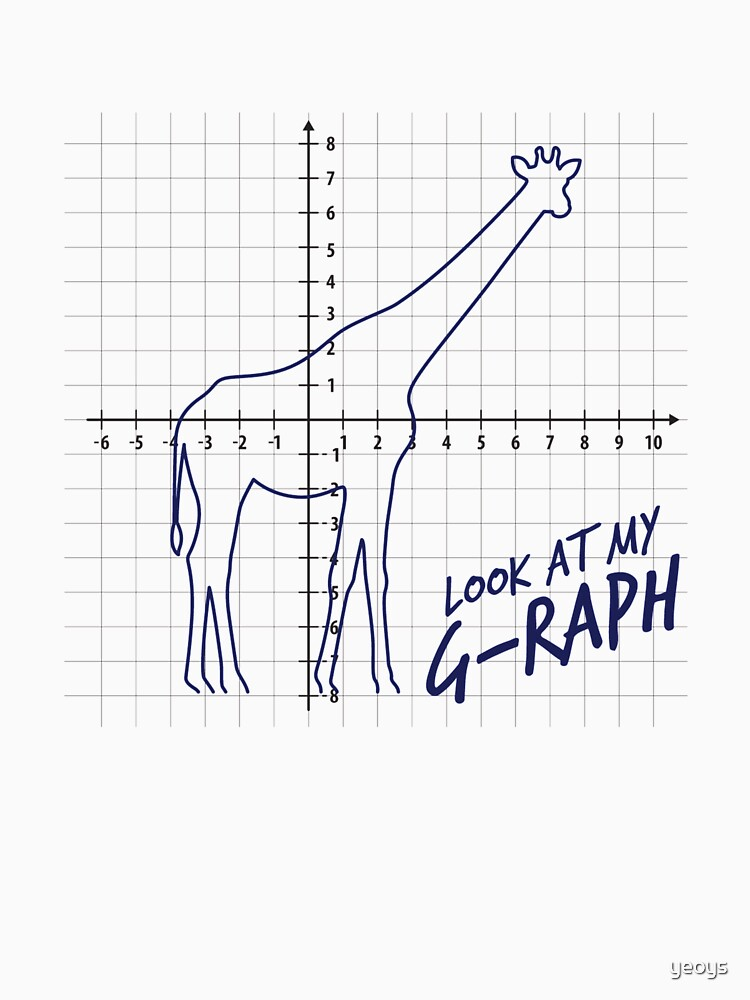 Look At My Graph - Giraffe Pun by yeoys