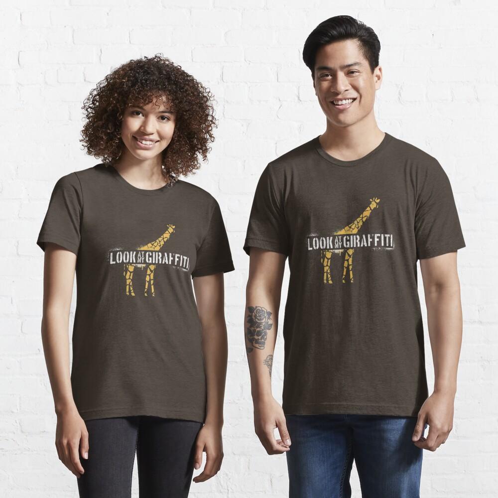 Look At My Giraffiti - Giraffe Pun Essential T-Shirt