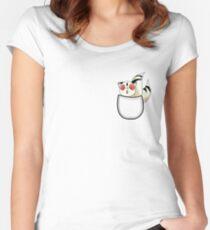 Pocket Kirara. Anime. Women's Fitted Scoop T-Shirt