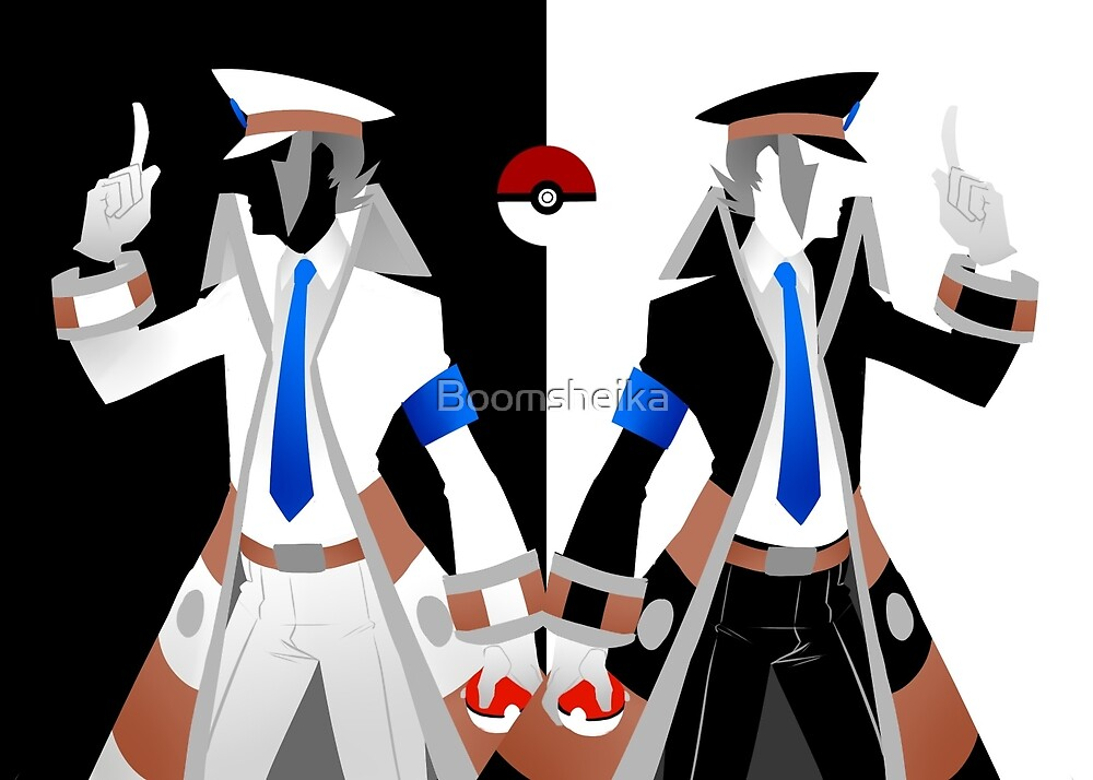 SUBWAY BOSSES INGO AND EMMET want to battle! - Pokemon: Black and White by Boomsheika