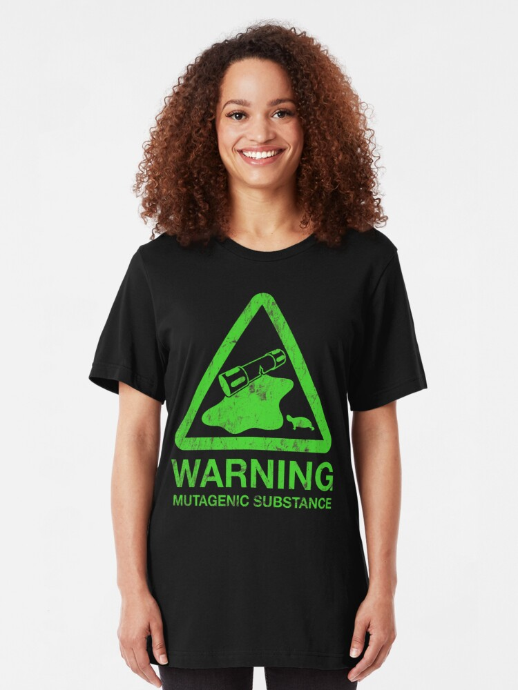 Alternate view of The Danger of the Ooze Slim Fit T-Shirt