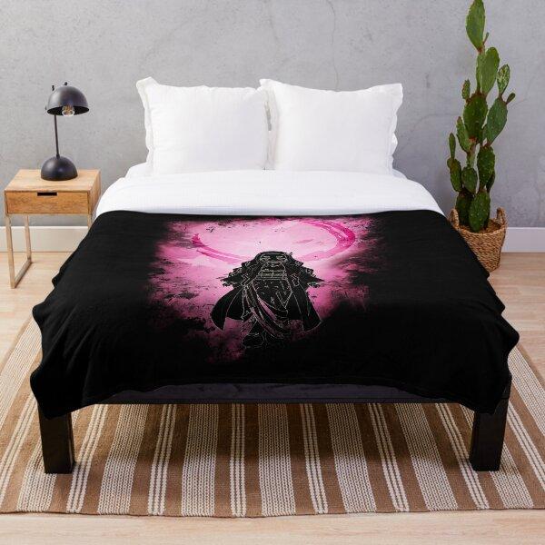 Half Demon Awakening Throw Blanket