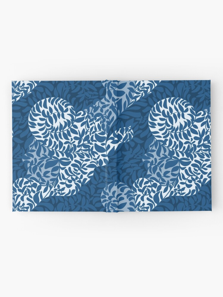 Alternate view of Vines in the clouds pattern design Hardcover Journal