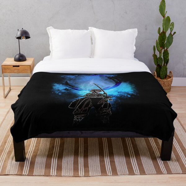 Water Spirit Awakening Throw Blanket