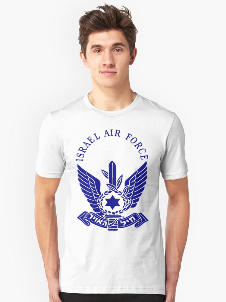 Israel Air Force Logo Unisex T-Shirt Front