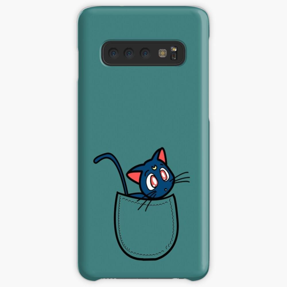 Tasche Luna. Sailor Moon Hülle & Klebefolie für Samsung Galaxy