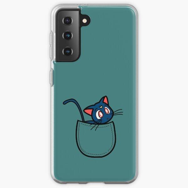 Pocket luna. Sailor moon Samsung Galaxy Soft Case