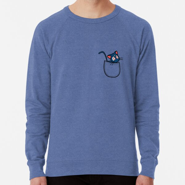 Pocket luna. Sailor moon Lightweight Sweatshirt