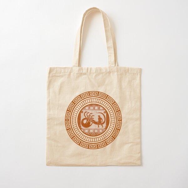 Hercules vs Hydra (orange version) Cotton Tote Bag